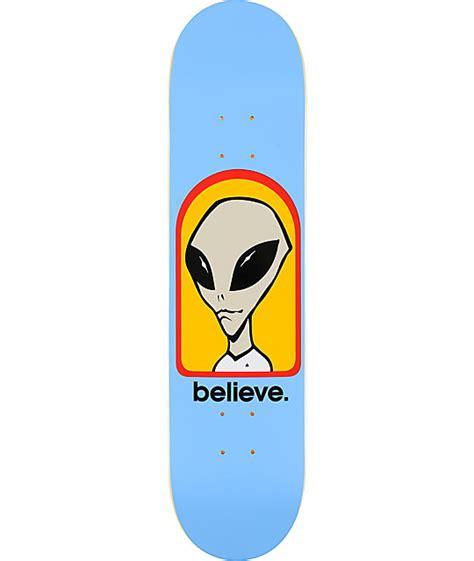 alien workshop believe 7 62 quot skateboard deck at zumiez pdp