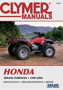 Honda Trx450 Foreman Series Atv  1998