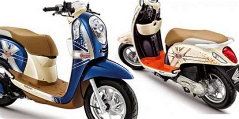 Modifikasi Motor Scoopy Injeksi by New Honda Scoopy Fi Modifikasi Motor
