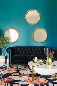 Wandspiegel Rund : die besten 25 wandspiegel rund ideen auf pinterest ~ Pilothousefishingboats.com Haus und Dekorationen