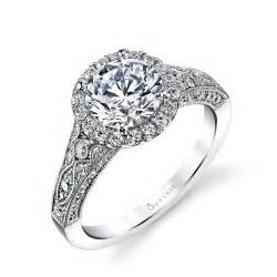 vintage style wedding bands designer antique inspired halo engagement ring engagement ring