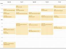 class schedule calendar maker Pertaminico