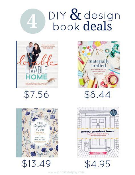 Diy Home Decor Books by 4 Diy Design Book Deals