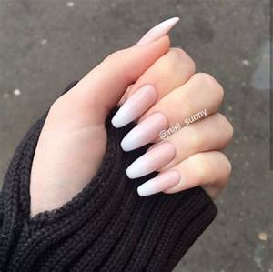 Tumblr French Acrylic Nails | www.pixshark.com - Images ...