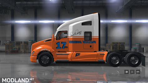terminal trucking darrell waltrip retro nascar skin mod