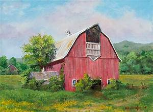 farm and country original art wild wings With barn painting cost