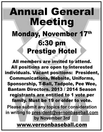 annual general meeting notice templates word