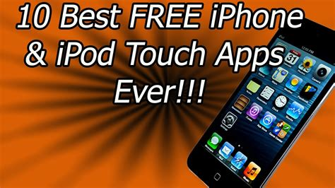 best free apps for iphone 10 best free iphone ipod touch apps in the app