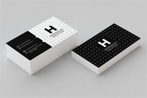 Cards Templates by Minimal Business Card Template Business Card Templates