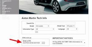 Aston Martin Vin Decoder