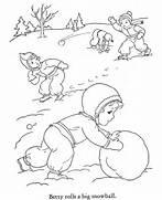Winter Season Drawing ...