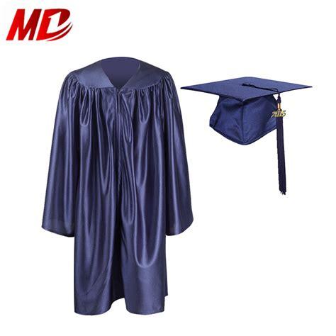 graduationmall unisex shiny kindergarten graduation cap 551 | Graduationmall Unisex Shiny Kindergarten Graduation Cap And Gown Package With Tassel 2015 Size27 36 In Navy