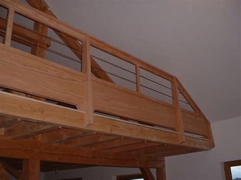 Balustrades d'étage   Sélection de travaux de menuiserie