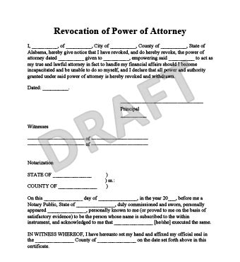 free consent to change attorney form create a revocation of power of attorney legaltemplates
