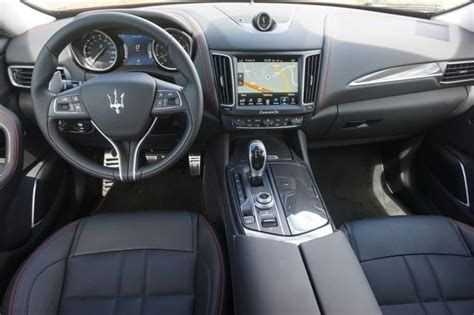 maserati suv interior 2017 maserati levante award winning interior denver colorado
