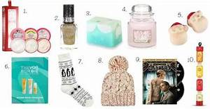 Christmas Gift Guide Gifts and Stocking Fillers Under £10