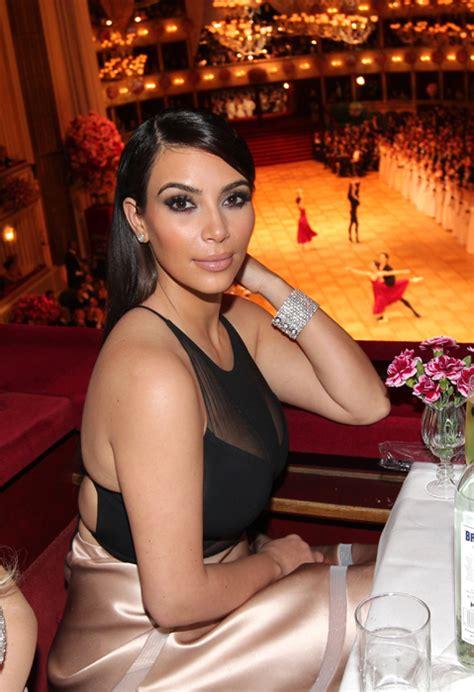 kim kardashian  belle   vienna opera ball
