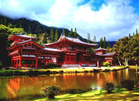 Japan Japanese Architecture Famous Ancient House And