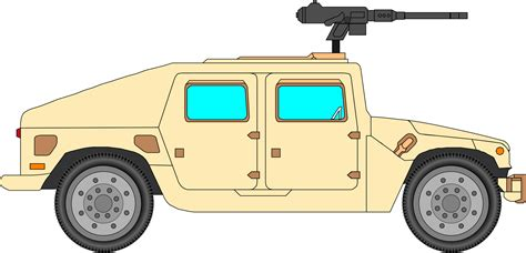 humvee clipart clipart military car