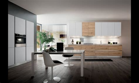 cuisine moderne blanche et bois cuisine moderne blanche et bois