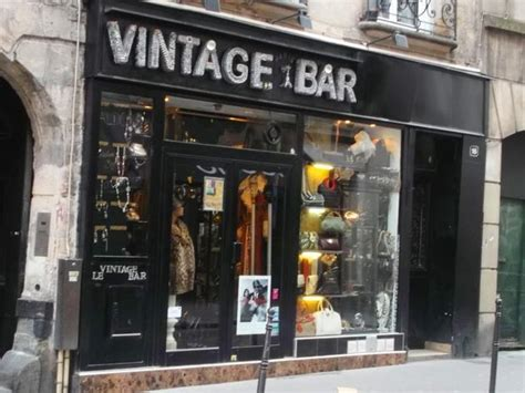 vintage bar shopping  le marais paris