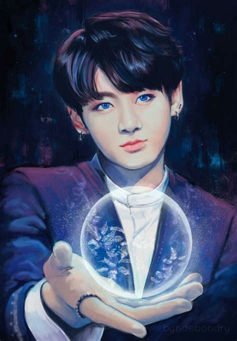 Bts Fanart Jungkook Bts Jungkook Fly Will Fly To The Moon 176 F A N A R T