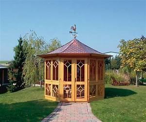 Gartenpavillon Holz Geschlossen : gartenpavillon gartenhaus bellevue von riwo pavillon ~ Whattoseeinmadrid.com Haus und Dekorationen