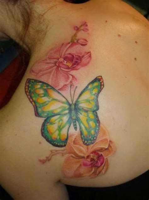stunning  lovely butterfly tattoos  designs