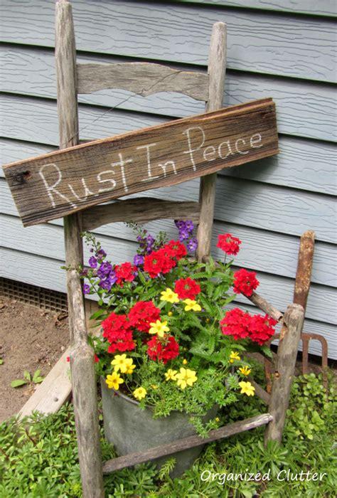 Garden Junk Doesn Last Forever Organized Clutter