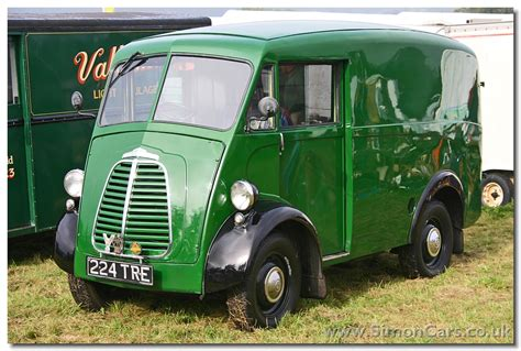 The Forward Control J-type Van From Morris (and Austin