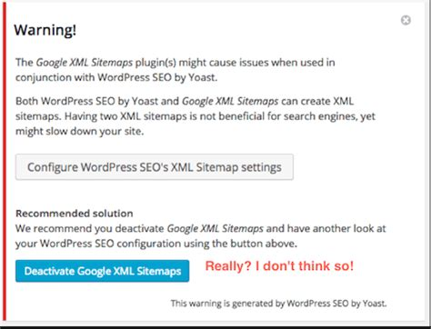 Fix Yoast Seo Xml Sitemap Conflict How Disable Default