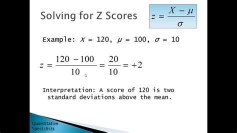 statistics introductory standard deviation scores math psychology solve formulas ap interpret sigma