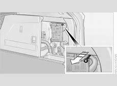 BMW fuel door manual override release, emergency open