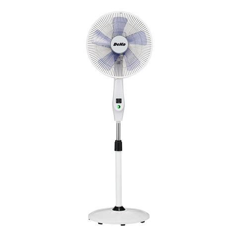 floor fan with remote deko low energy battery operated floor fan silence stratos
