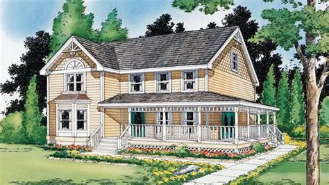 farmhouse building plans houses country farmhouse