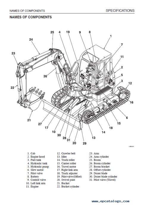 takeuchi tbfr excavator workshop manual