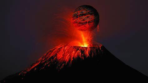 2560x1440 Volcano Lava 4k 1440p Resolution Hd 4k