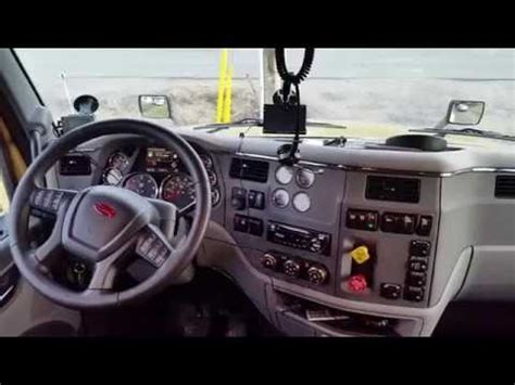 peterbilt  interior review youtube