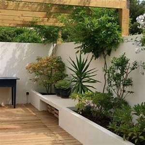 Terrasse Avec Muret : les 56 meilleures images du tableau jardin sur pinterest ~ Premium-room.com Idées de Décoration