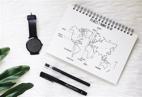provence bureau 10 idées de page collection pour votre bullet journal