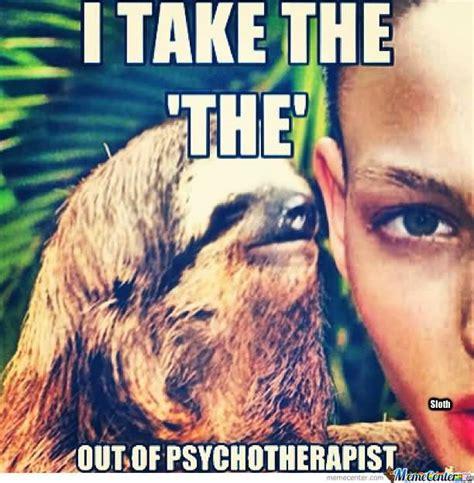 Whispering Sloth Meme - 30 very hilarious sloth whisper meme stock golfian com