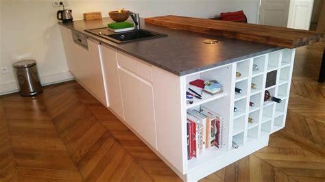 comptoir ilot cuisine ilot central espace comptoir fonctionnel et convivial