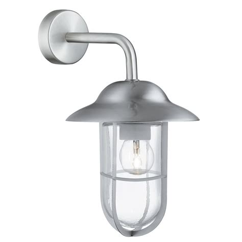 searchlight electric well glass 3291ss outdoor wall