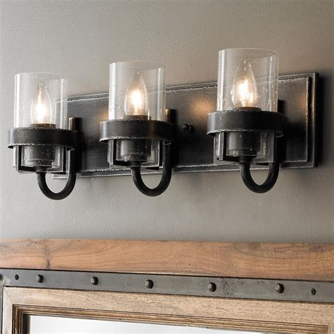 Vintage Bathroom Lighting Fixtures by Factory Vintage Iron Bath Light 3 Light In 2019