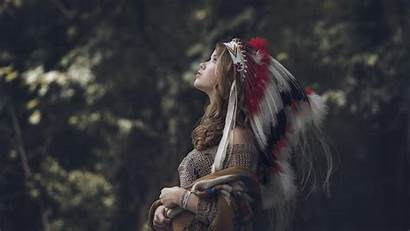 Native American Screensavers Wallpapers Nature Headdress Walldevil