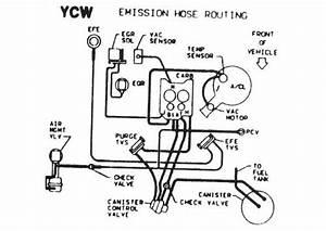 77 El Camino Vacuum Lines Diagrams
