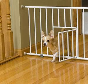 best dog gates with cat door With dog doors that keep other animals out