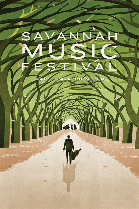 2016 Savannah Music Festival Poster - Graphis
