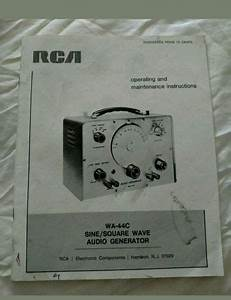 Operators Manual For Goldstar Frequency Counter