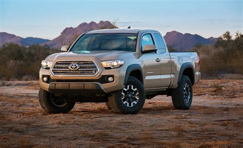 Toyota Tacoma Upgrades by Toyota Tacoma Get A Major Upgrade For 2016 Model Year